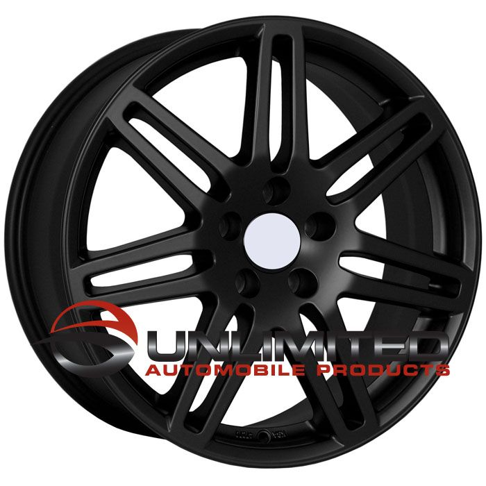 18 RS4 Wheels Rims Matte Black Fit Audi allroad